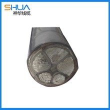 Metallized aluminum alloy cable